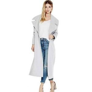 New! Guess Jayde coat! size small light gray